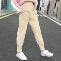 女童运动裤秋装儿童春秋长裤中大童休闲裤