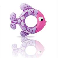 【支持礼品卡】游泳圈儿童3-6岁小鱼泳圈腋下圈浮圈坐圈水上充气玩具 v4d