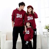 兄妹姐弟装冬装套装新款潮韩版父子亲子装母子母女装加绒韩国