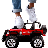 儿童玩具男孩玩具车赛车电动大脚车大遥控车越野车充电遥控汽车
