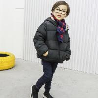 小童棉衣男冬1一3岁潮新款男童冬款男宝冬装外套韩版加厚