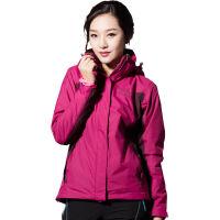 探路者TOREAD女款女士三合一套绒保暖防风防泼水冲锋衣 TAWB92604