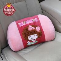 车用太空记忆棉腰靠 慢回弹办公室腰枕汽车腰垫 护腰靠