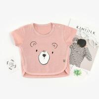 【特价】夏季新款卡通t恤婴幼童薄款圆领短袖儿童套头衫韩版