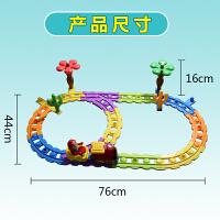 儿童玩具小火车头套装轨道车宝宝电动玩具男孩女孩
