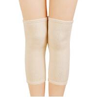 薄款透气保暖护膝 空调房防寒莫代尔柔软护膝冬季 男女士 米白色
