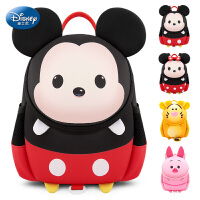 迪士尼幼儿园书包男孩1-3岁4女宝宝米奇儿童入园小背包防走失可爱