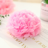 婚庆婚房装饰布置道具用品结婚牡丹纸拉花纸花球儿童生日百天派对
