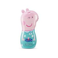 小�i佩奇 Peppa Pig�和�幼�����洗�o用品洗�^洗�l水�o�l素二合一 金�K花味 350ml*1