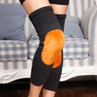 护膝保暖中老年人老寒腿膝盖加绒女士秋冬季保暖双层加厚护膝男士