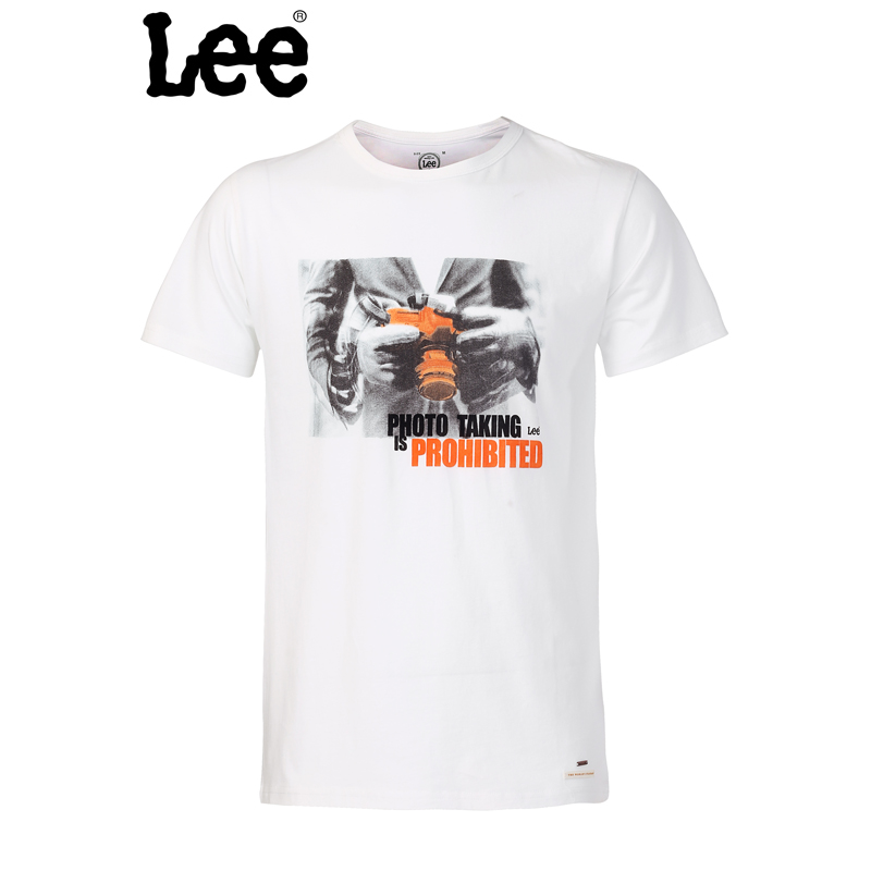 Lee 【断码】男士 修身休闲 短袖T恤L12895866E38