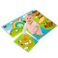 儿童宝宝拼图游戏垫子爬行垫毯爬爬垫地垫泡沫拼接环保加厚h1e