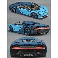 跑车模型兼容乐高42083机械组拼装积木玩具