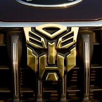 变形金刚汽车车贴 个性创意车身装饰用品3D立体汽车人金属车贴
