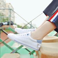 阿迪达斯支撑/adiasZC 秋季女鞋2017新款学生板鞋甜美百搭平底小白鞋韩版潮流港风板鞋女