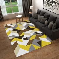 地毯客厅 北欧几何现代简约客厅沙发茶几家用美式定制地垫可机洗j