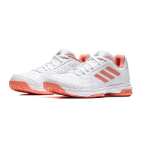 adidas阿迪达斯女子网球鞋2018新款网球比赛训练运动鞋CM7760