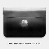水母苹果电脑包笔记本mac book air pro内胆包12 13 15寸ipad套11 11寸Air 电脑包 其它