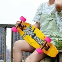 小鱼板大鱼板新手公路代步 单翘滑板青少年四轮滑板车