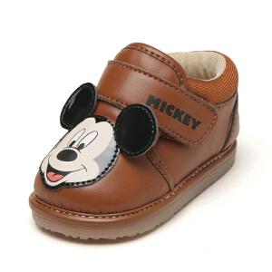 鞋柜/迪士尼春秋新品魔术贴男童鞋卡通米老鼠休闲鞋1