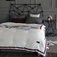 伊丝洁家纺春秋冬季被子被单人床1.5m床上用品学生宿舍时尚全棉水洗棉被芯