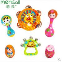 婴幼儿玩具 新生儿摇铃玩具组合套装宝宝儿童早教益智礼盒装生日礼物 整套优惠