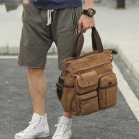 男士商务手提包休闲男包 单肩包斜挎包笔记本电脑包潮流背包