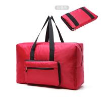 七夕礼物手提旅行包男行李袋行李包大容量短途单肩包包女折叠袋子韩版 大