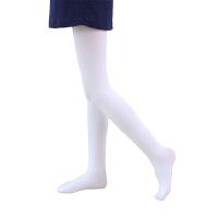 儿童连裤袜女童舞蹈袜白色打底裤子薄款宝宝夏季