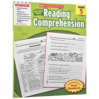 美国小学五年级英语阅读理解练习册 英文版原版 scholastic Success with Reading compr