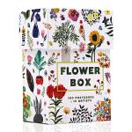 百花之盒:100张花卉插画明信片 英文原版 Flower Box: 100 Postcards by 10 Artis