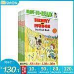 Ready to read 汪培�E推荐第二阶段12本套装英文原版绘本 Henry and Mudge系列 Cynthi
