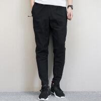 Adidas阿迪达斯 男子 运动型格长裤 针织锥形收腿运动长裤BQ7023
