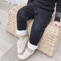 女童保暖裤子女宝宝棉裤加绒婴儿童冬装