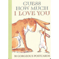 Guess How Much I Love You Postcard Book 猜猜我有多爱你(明信片套装) ISBN9