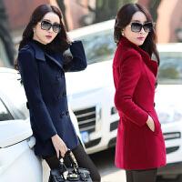 反季小个子毛呢外套女短款2017新款秋冬装韩版呢子矮个子妮子大衣