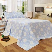 纯棉纱布毛巾被新款图案休闲毯夏季空调被多层纱布被床单定制