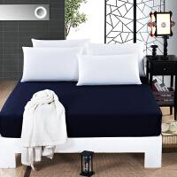伊迪梦家纺 纯棉纯色床笠款床罩式床单 全棉床笠床垫罩床垫套 席梦思保护套罩 单双人床RS601