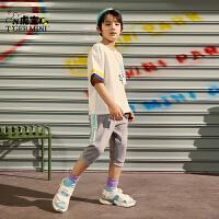 【任选专区3件89元】小虎宝儿男童t恤短袖2021夏季新款中大童纯棉童装儿童洋气