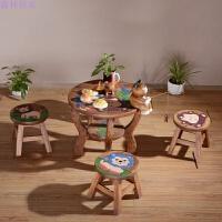 学习桌椅桌椅幼儿园卡通桌椅组合卡通桌椅
