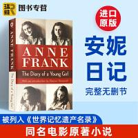 正版 安妮日记英文版 The Diary of a Young Girl 英文原版小说 进口美国原版英语书籍 anne