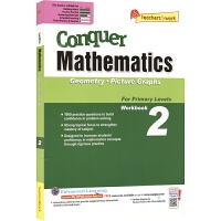 SAP Conquer Mathematics 2 Geometry Picture Graphs 攻克数学系列二年级