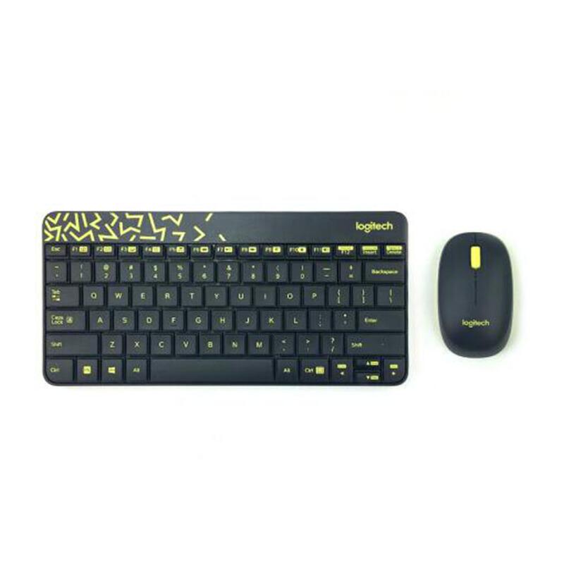 罗技 MK240 Nano无线键鼠套装 简约省电MK240升级版 跟MK240区别是外观颜色和接收器改为微型了
