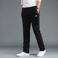 Adidas阿迪达斯运动裤 2018新款跑步训练休闲透气长裤 BP8753