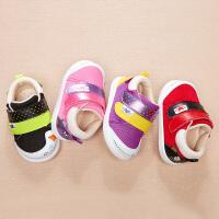 男女宝宝学步鞋春秋0-3岁软底儿童机能鞋小童鞋子