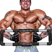 练手臂力棒 臂力器男士压力器胸肌腹肌健身器材家用综合训练臂力棒锻炼握力棒HW