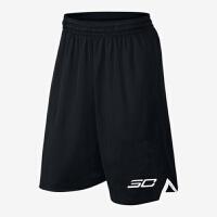 篮球裤速干篮球短裤夏跑步健身运动五分裤透气口袋宽松过膝中裤男