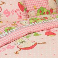 澳绒磨毛四件套 纯棉加厚儿童床上用品 单人双人床被罩