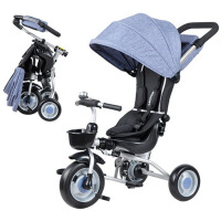 1-3岁儿童三轮车脚踏车多功能宝宝童车婴儿手推车
