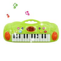 儿童电子琴宝宝早教音乐玩具小钢琴0-1-3岁男女孩婴幼儿礼物 绿色标配